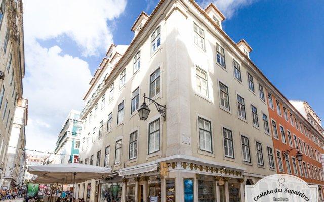 Отель Casinha Dos Sapateiros Лиссабон вид на фасад