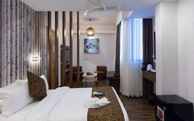 Отель H78 Maldives Мальдивы, Мале - отзывы, цены и фото номеров - забронировать отель H78 Maldives онлайн комната для гостей