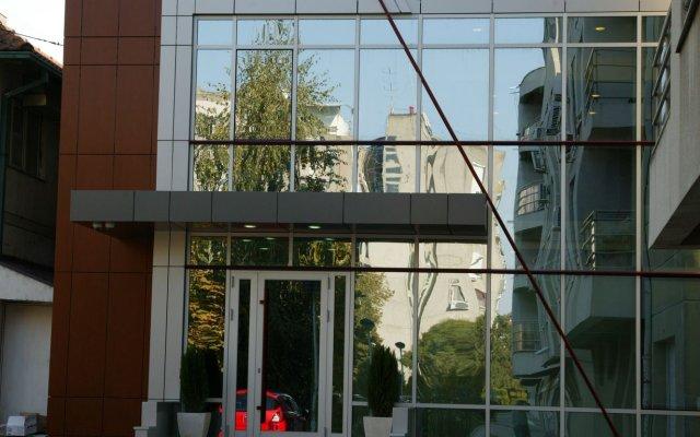 Отель Contact Сербия, Белград - отзывы, цены и фото номеров - забронировать отель Contact онлайн вид на фасад