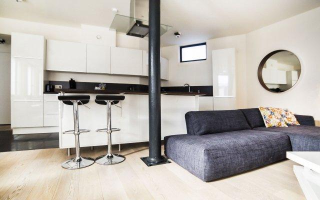 Апартаменты Apartments Smartflats Saint-Géry Garden Flats Брюссель комната для гостей