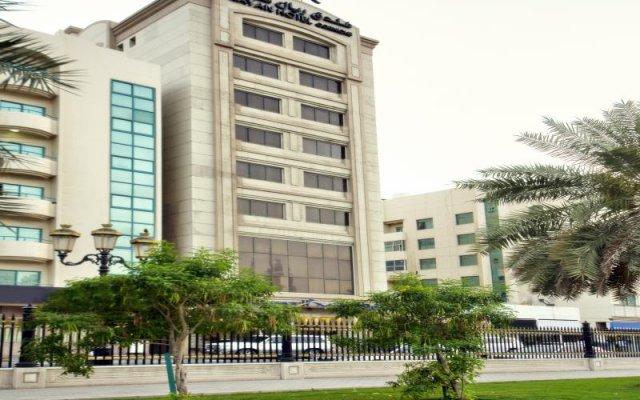 Отель Rayan Hotel Corniche ОАЭ, Шарджа - отзывы, цены и фото номеров - забронировать отель Rayan Hotel Corniche онлайн вид на фасад