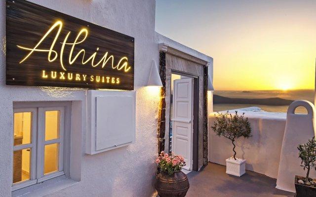 Отель Athina Luxury Suites вид на фасад