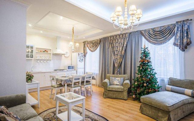 Апартаменты VIP Apartment Minsk комната для гостей