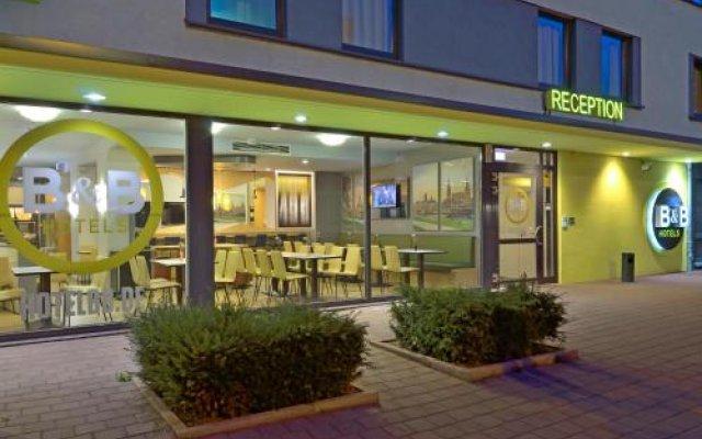 Отель B&B Hotel Dresden Германия, Дрезден - отзывы, цены и фото номеров - забронировать отель B&B Hotel Dresden онлайн вид на фасад