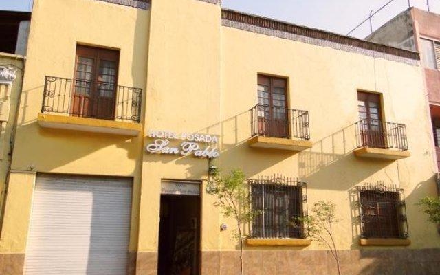 Hotel Posada San Pablo вид на фасад