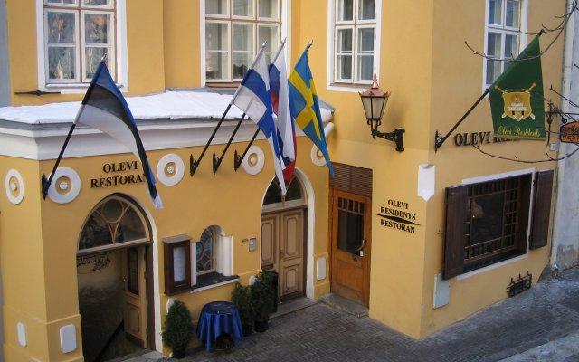 Отель Olevi Residents Эстония, Таллин - - забронировать отель Olevi Residents, цены и фото номеров вид на фасад