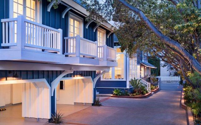 Отель The Orchid Inn at Santa Barbara США, Санта-Барбара - отзывы, цены и фото номеров - забронировать отель The Orchid Inn at Santa Barbara онлайн вид на фасад