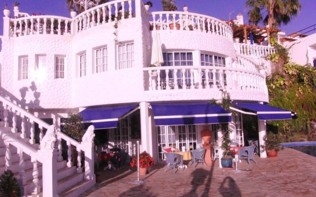 Отель Casablanca Apartamentos Морро Жабле вид на фасад