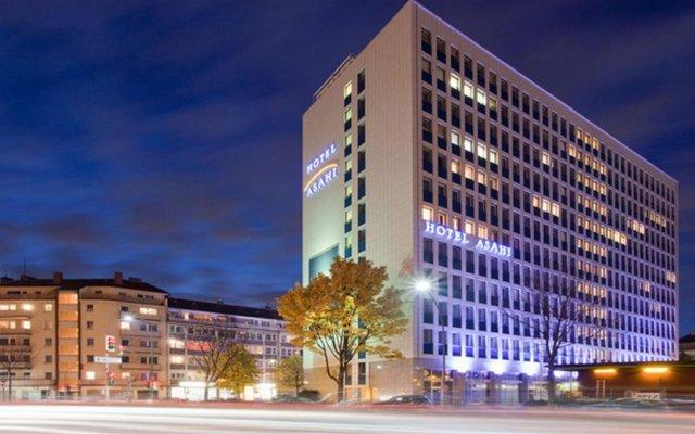 Hotel Asahi вид на фасад