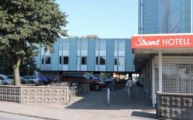Отель HAVSHOTELLET Мальме вид на фасад