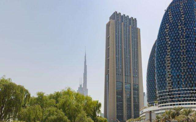 Отель Dream Inn Dubai Apartments - Index Tower ОАЭ, Дубай - отзывы, цены и фото номеров - забронировать отель Dream Inn Dubai Apartments - Index Tower онлайн вид на фасад