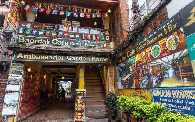 Отель Ambassador Garden Home Непал, Катманду - отзывы, цены и фото номеров - забронировать отель Ambassador Garden Home онлайн вид на фасад