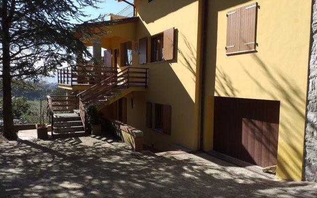 Отель Villa Nunzia Монтекассино вид на фасад