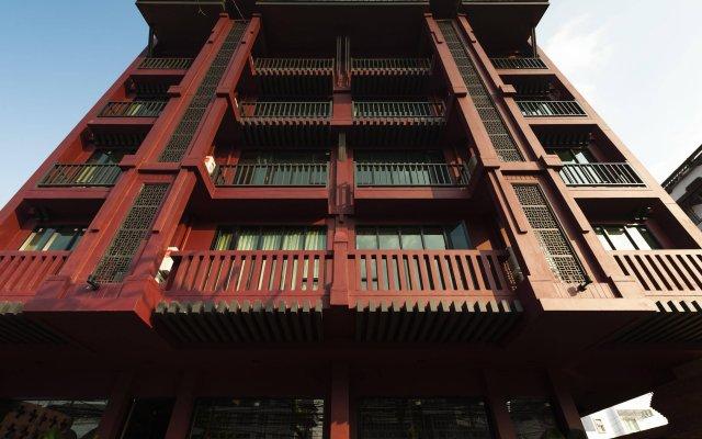 Отель Casa Nithra Bangkok Бангкок вид на фасад