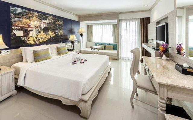 Отель Novotel Phuket Resort вид на фасад