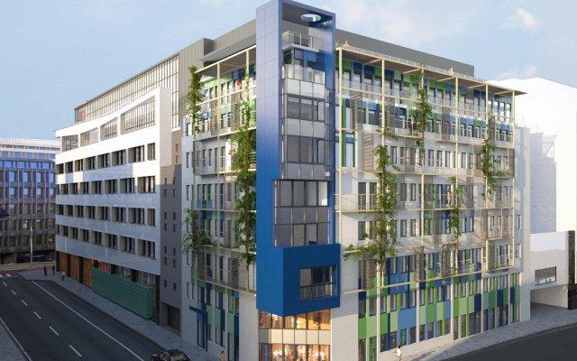 Thon Hotel EU вид на фасад