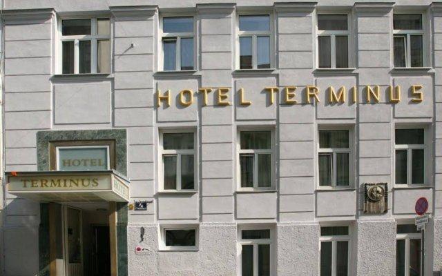 Hotel Terminus Vienna вид на фасад