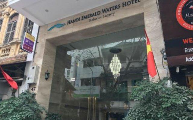 Hanoi Emerald Waters Hotel & Spa вид на фасад