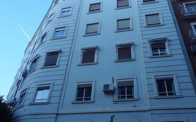 Отель Singularstays Plaza De España Валенсия вид на фасад