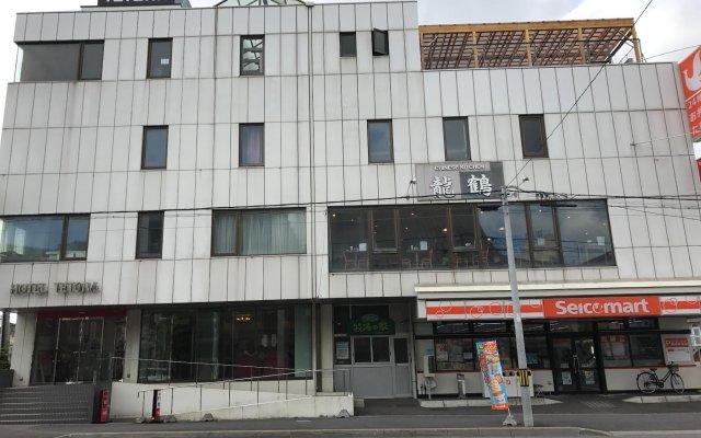 Hotel Tetora вид на фасад