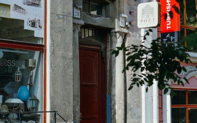 Poet Art Hotel вид на фасад