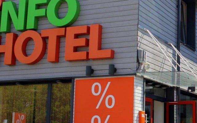 Отель Info Hotel Литва, Паланга - отзывы, цены и фото номеров - забронировать отель Info Hotel онлайн вид на фасад