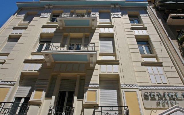 Отель Semeli Hotel Греция, Афины - отзывы, цены и фото номеров - забронировать отель Semeli Hotel онлайн вид на фасад