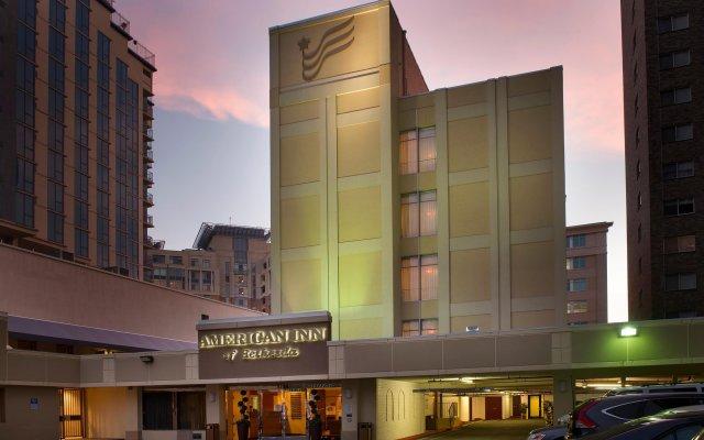 Отель The American Inn of Bethesda вид на фасад