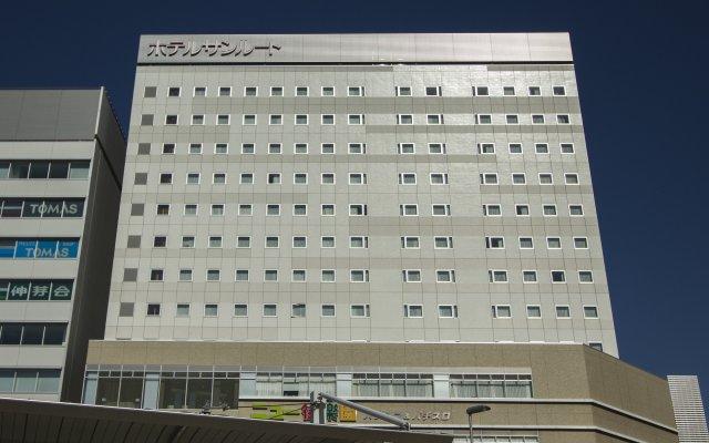 Hotel Sunroute Chiba Тиба вид на фасад