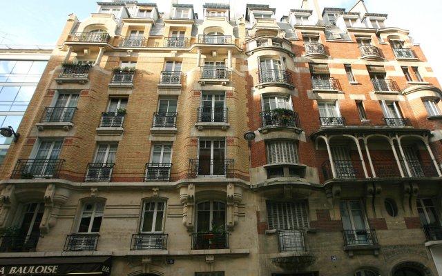 Отель Appart Tourisme Paris Porte de Versailles Hameau Франция, Париж - отзывы, цены и фото номеров - забронировать отель Appart Tourisme Paris Porte de Versailles Hameau онлайн вид на фасад