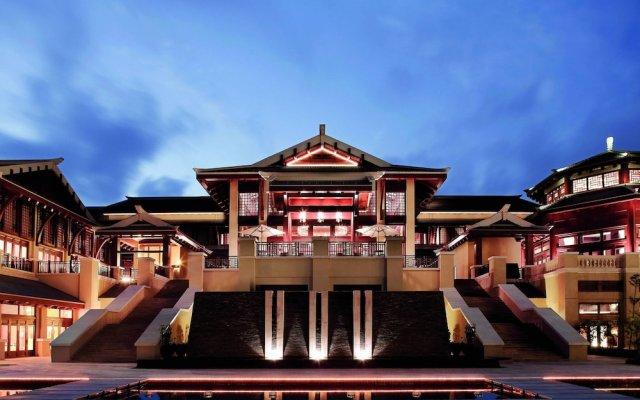 Отель The Ritz-Carlton Sanya, Yalong Bay Китай, Санья - отзывы, цены и фото номеров - забронировать отель The Ritz-Carlton Sanya, Yalong Bay онлайн вид на фасад