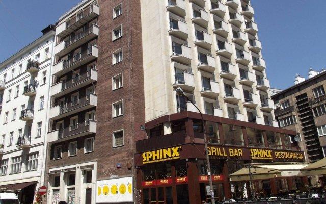 Отель bed4city Szpitalna Street вид на фасад