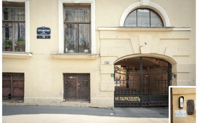Мини-отель Почтамтская 10 вид на фасад