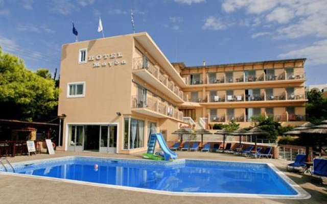 Magda Hotel вид на фасад