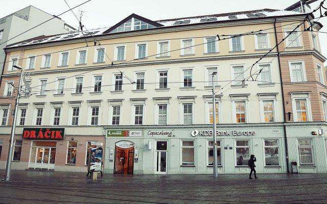 Hostel Folks Братислава вид на фасад