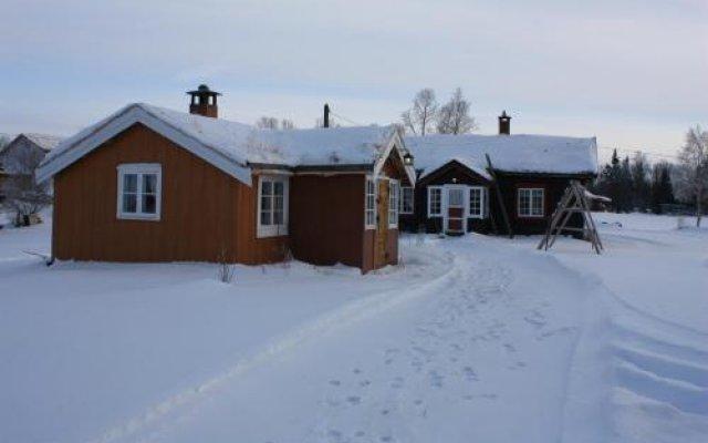 Отель Småsetran Gård вид на фасад