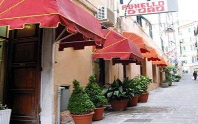 Отель Agnello D'Oro Италия, Генуя - 6 отзывов об отеле, цены и фото номеров - забронировать отель Agnello D'Oro онлайн вид на фасад