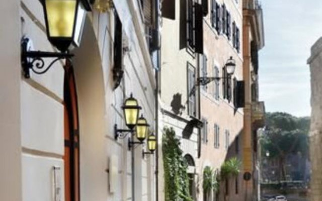 Отель NERVA Рим вид на фасад