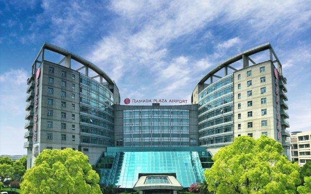 Отель Ramada Plaza Shanghai Pudong Airport Китай, Шанхай - отзывы, цены и фото номеров - забронировать отель Ramada Plaza Shanghai Pudong Airport онлайн вид на фасад