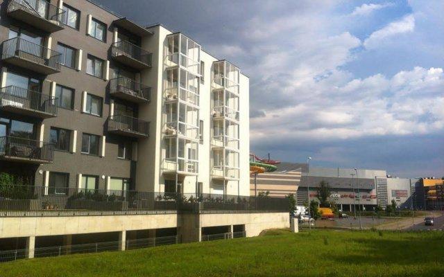 Отель Near Ozas вид на фасад