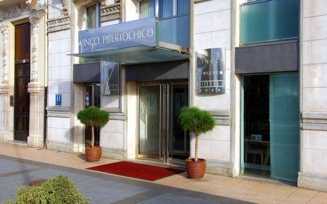 Отель Vincci Puertochico вид на фасад