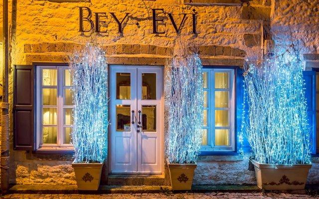 BeyEvi Hotel Чешме вид на фасад