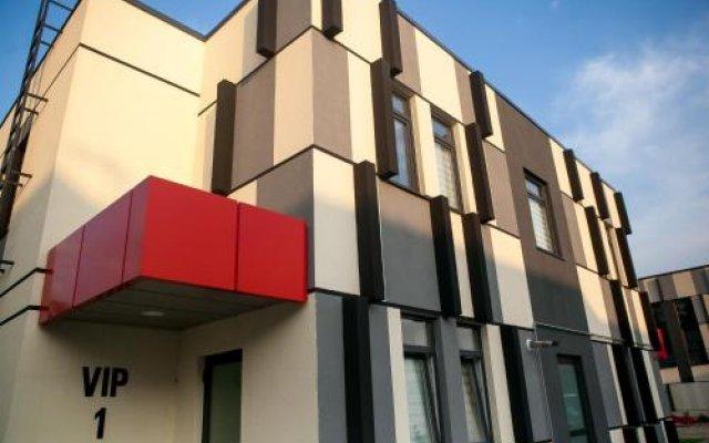 Гостиница ЭРА СПА в Калининграде 5 отзывов об отеле, цены и фото номеров - забронировать гостиницу ЭРА СПА онлайн Калининград вид на фасад