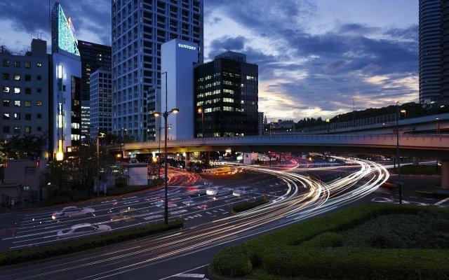 Отель Akasaka Excel Hotel Tokyu Япония, Токио - отзывы, цены и фото номеров - забронировать отель Akasaka Excel Hotel Tokyu онлайн вид на фасад