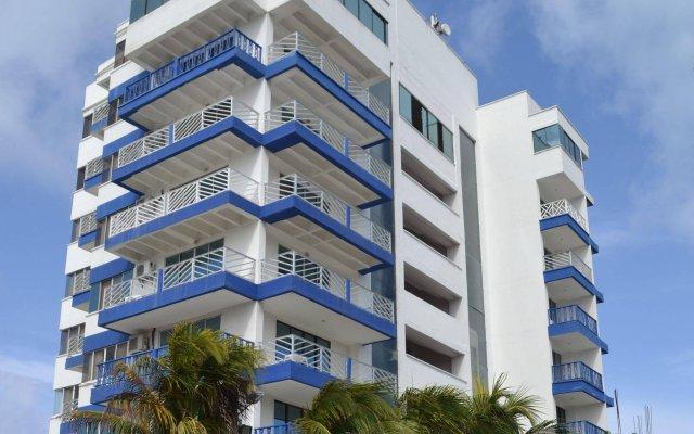 Отель Sol Caribe Sea Flower Колумбия, Сан-Андрес - отзывы, цены и фото номеров - забронировать отель Sol Caribe Sea Flower онлайн вид на фасад