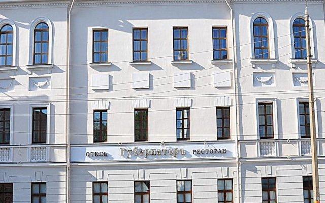 Гостиница Губернатор в Твери 5 отзывов об отеле, цены и фото номеров - забронировать гостиницу Губернатор онлайн Тверь вид на фасад