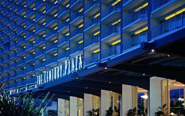 Отель Hyatt Regency Century Plaza вид на фасад