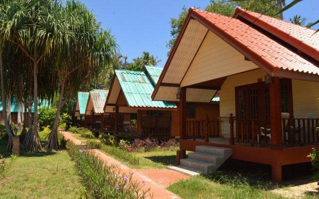Отель Sayang Beach Resort вид на фасад