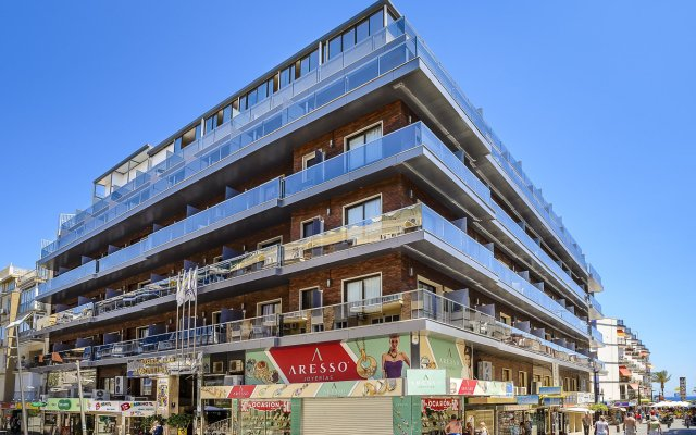 Отель Avenida Испания, Пляж Леванте - отзывы, цены и фото номеров - забронировать отель Avenida онлайн вид на фасад