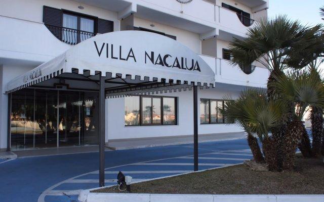 Отель Villa Nacalua Ситта-Сант-Анджело вид на фасад